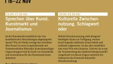 VIENNA ART WEEK Podiumsdiskussion 20. 11. 2015